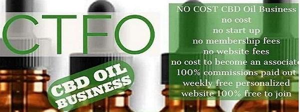 CTFO Free MLM Hemp Oil Opportunity